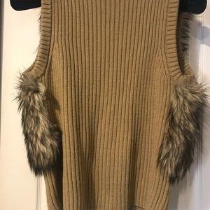 Michael Kors Jackets & Coats - Authentic Michael Kors Faux Fur Vest